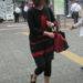 文句なしのお手本コーデ!スカートに七分丈レギンスを発見!!これならアラフィフファッションも万全